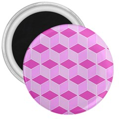 Series In Pink F 3  Magnets
