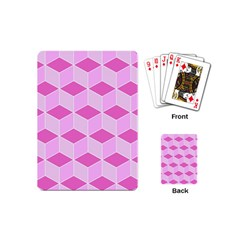 Series In Pink F Playing Cards (mini)
