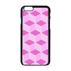 Series In Pink F Apple Iphone 6/6s Black Enamel Case