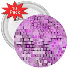 Series In Pink G 3  Buttons (10 Pack)