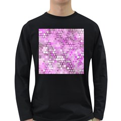 Series In Pink G Long Sleeve Dark T Shirts