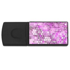 Series In Pink G Rectangular Usb Flash Drive