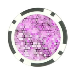 Series In Pink G Poker Chip Card Guard