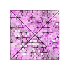 Series In Pink G Acrylic Tangram Puzzle (4  X 4 ) by MoreColorsinLife