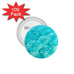 Ocean Blue Waves  1 75  Buttons (100 Pack)