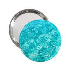 Ocean Blue Waves  2 25  Handbag Mirrors