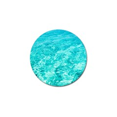 Ocean Blue Waves  Golf Ball Marker (4 Pack)