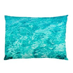 Ocean Blue Waves  Pillow Case (two Sides)