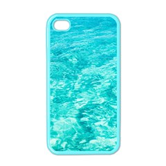 Ocean Blue Waves  Apple Iphone 4 Case (color)