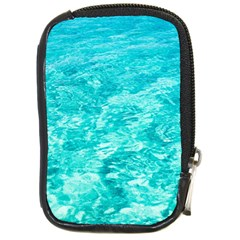 Ocean Blue Waves  Compact Camera Cases