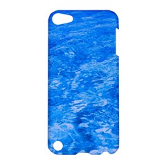 Ocean Blue Waves Abstract Cobalt Apple Ipod Touch 5 Hardshell Case