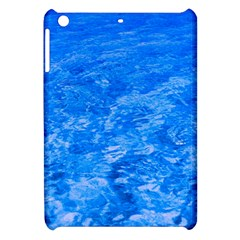 Ocean Blue Waves Abstract Cobalt Apple Ipad Mini Hardshell Case