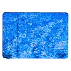 Ocean Blue Waves Abstract Cobalt Samsung Galaxy Tab 8 9  P7300 Flip Case