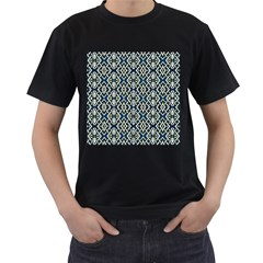 F 6 Men s T Shirt (black) (two Sided)