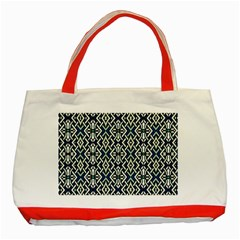 F 6 Classic Tote Bag (red)