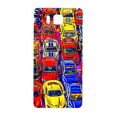 Colorful Toy Racing Cars Samsung Galaxy Alpha Hardshell Back Case