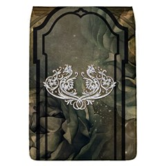 Wonderful Decorative Dragon On Vintage Background Flap Covers (s)  by FantasyWorld7