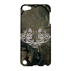 Wonderful Decorative Dragon On Vintage Background Apple Ipod Touch 5 Hardshell Case