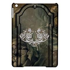 Wonderful Decorative Dragon On Vintage Background Ipad Air Hardshell Cases