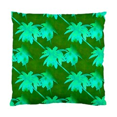 Palm Trees Island Jungle Standard Cushion Case (one Side)