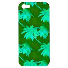 Palm Trees Island Jungle Apple Iphone 5 Hardshell Case