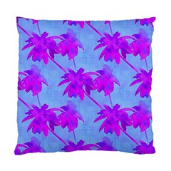 Palm Trees Caribbean Evening Standard Cushion Case (one Side)