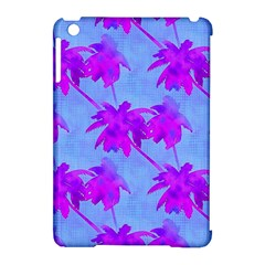 Palm Trees Caribbean Evening Apple Ipad Mini Hardshell Case (compatible With Smart Cover)