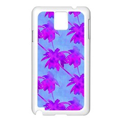Palm Trees Caribbean Evening Samsung Galaxy Note 3 N9005 Case (white)