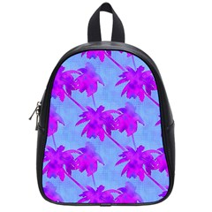 Palm Trees Caribbean Evening School Bag (small)
