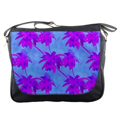 Palm Trees Caribbean Evening Messenger Bags