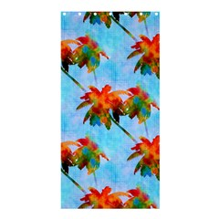 Palm Trees Sunset Glow Shower Curtain 36  X 72  (stall)