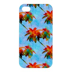 Palm Trees Sunset Glow Apple Iphone 4/4s Hardshell Case