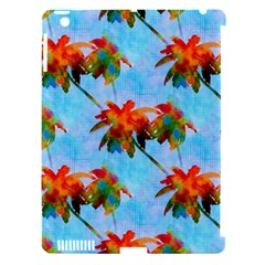 Palm Trees Sunset Glow Apple Ipad 3/4 Hardshell Case (compatible With Smart Cover)