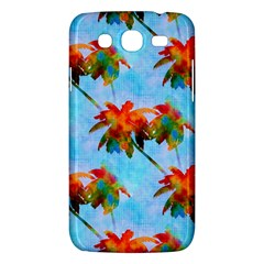 Palm Trees Sunset Glow Samsung Galaxy Mega 5 8 I9152 Hardshell Case