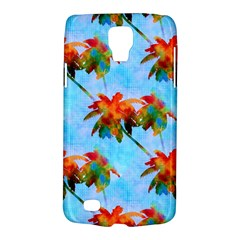 Palm Trees Sunset Glow Samsung Galaxy S4 Active (i9295) Hardshell Case