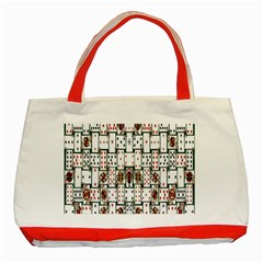 Cards Classic Tote Bag (red)