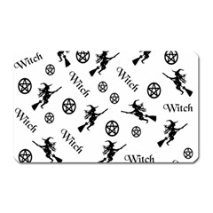Witches And Pentacles Magnet (rectangular) by IIPhotographyAndDesigns