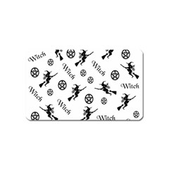 Witches And Pentacles Magnet (name Card)