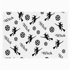 Witches And Pentacles Large Glasses Cloth by IIPhotographyAndDesigns