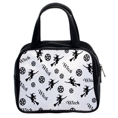 Witches And Pentacles Classic Handbags (2 Sides)