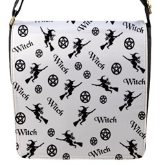 Witches And Pentacles Flap Messenger Bag (s)
