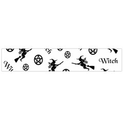 Witches And Pentacles Large Flano Scarf  by IIPhotographyAndDesigns