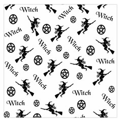 Witches And Pentacles Large Satin Scarf (square) by IIPhotographyAndDesigns