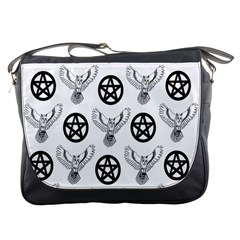 Owls And Pentacles Messenger Bags