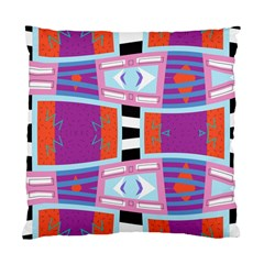Mirrored Distorted Shapes                              Standard Cushion Case (two Sides)