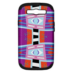 Mirrored Distorted Shapes                              Apple Seamless Iphone 5 Case (color)