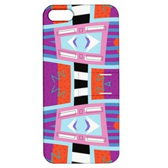 Mirrored Distorted Shapes                              Apple Iphone 4/4s Hardshell Case With Stand