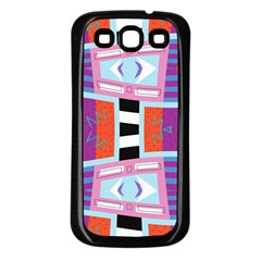 Mirrored Distorted Shapes                              Samsung Galaxy S3 Back Case (white)