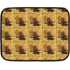 Ship Fleece Blanket (mini)