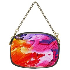 Red Purple Paint                                Chain Purse (two Sides)